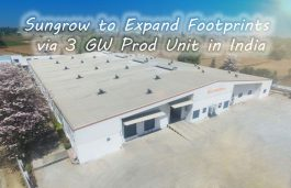Sungrow to Expand Footprints via 3 GW Prod Unit in India; First Outside China