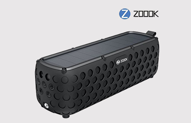 ZOOOK ZB-Solar Muse Solar Powered Bluetooth Speaker