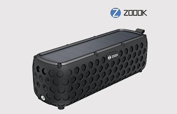 ZOOOK ZB-Solar Muse Solar Powered Bluetooth Speaker