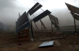 Severe Dust Storm Hit Bikaner Solar Farm; Is Solar India Ready to Face it?