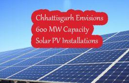 Chhattisgarh Envisions 600 MW Capacity Solar PV Installations