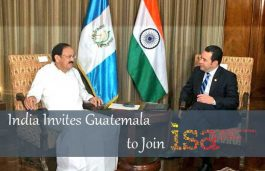 India Invites Guatemala to Join International Solar Alliance
