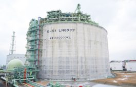 Osaka Gas Engineering to Provide Consulting Services on Construction of LNG Receiving Terminals in Taiwan