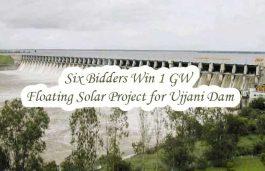 Six Bidders Win 1 GW Floating Solar Project for Ujjani Dam