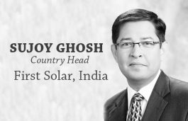 Viz-A-Viz with Sujoy Ghosh, Country Head, First Solar, India