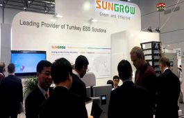 Sungrow Launches New 1500V Energy Storage System