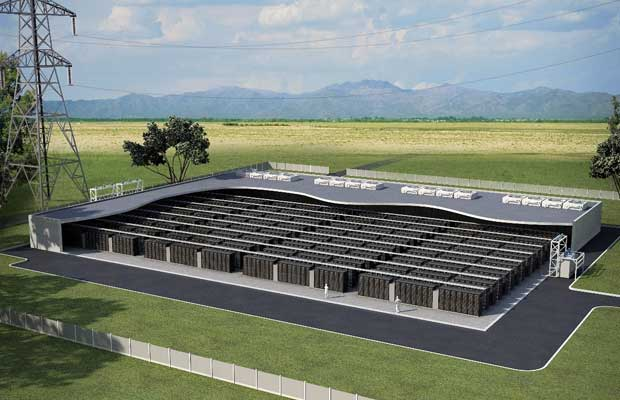 Battery Energy Storage Project in Africa