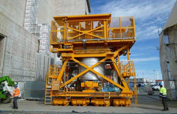 CNIM high safety fuel handling systems