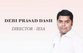 Viz-A-Viz with Debi Prasad Dash, Director – IESA