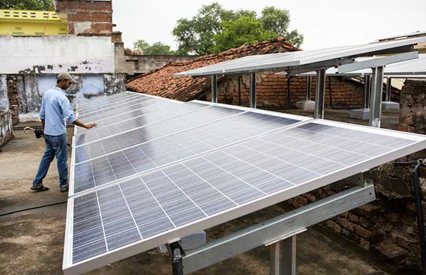 houses rooftop solar photovoltaic