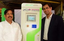 Magenta Power Sets-up India's 1st Solar Powered EV Charging Station; Mulls to Expand by Year End