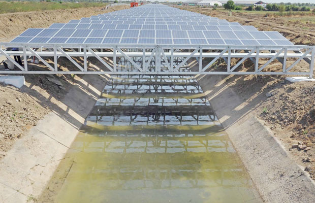 Solar Power Canal PV