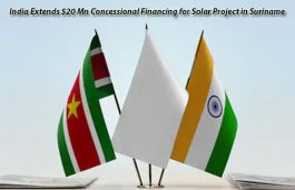 India Extends $20 Mn Concessional Financing for Solar Project in Suriname
