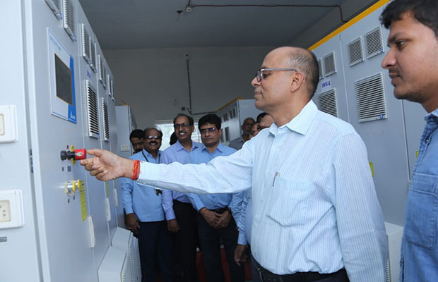 Ajay Kumar has also reviewed the various projects and activities of Midhani