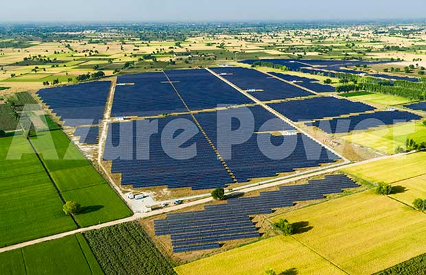 Azure Power Secures 160 MW Solar Project in UP