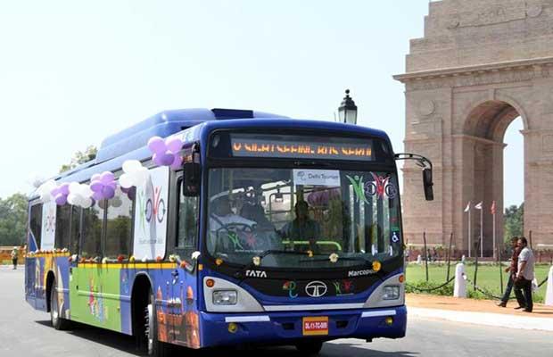 Delhi Electric Buses