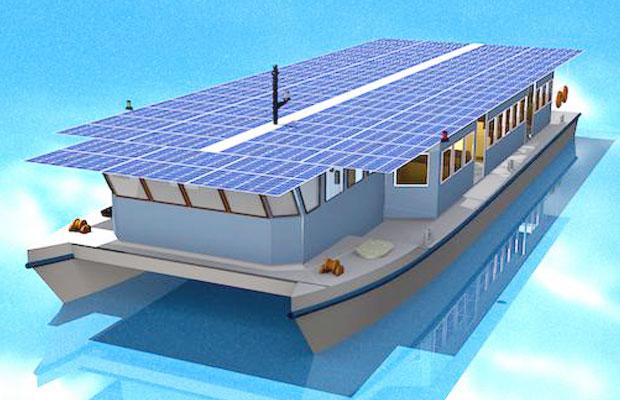 Goa Solar Boat