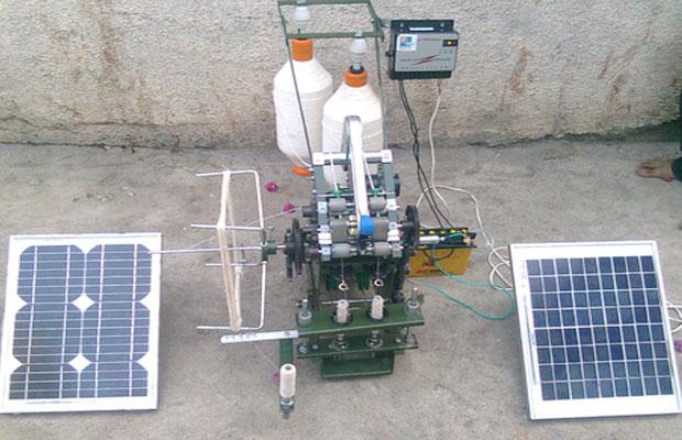 Solar Charkha