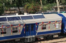 Eastern Railways Trials Passenger Train With Solar Roofs
