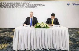 BMW Brilliance and CATL Signed Strategic Cooperation Agreement