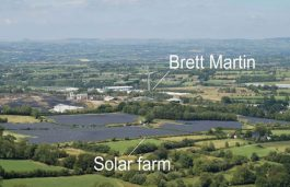 Brett Martin, Lightsource BP Ink Solar Energy Pact