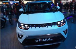 Mahindra Asserts Launch of Electric KUV100 in 2019