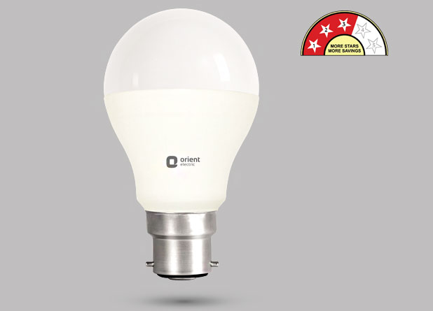 Orient Electric Gets Bee 5 Star Rating For Led Bulbs