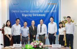 Sungrow Power to Supply Inverters to 100 MWp Vietnam Solar Project