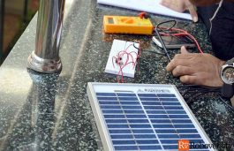 AMU Conducts 'Grid Connected Solar PV Rooftop' Workshop