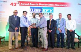 G P Tronics Bags ELCINA-EFY Awards 2018 for the Excellence in Innovation for Solar Products