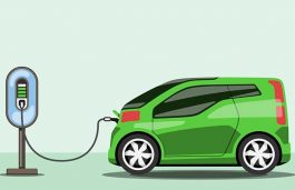 Network of Electric Vehicles Charging Stations Across Cities, Highways