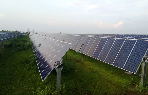 Indian solar pv plants