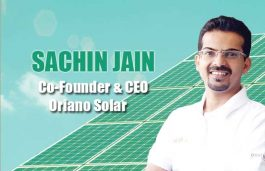 Viz-A-Viz with Sachin Jain, Co-Founder & CEO Oriano Solar