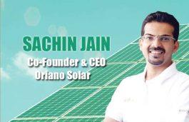 Viz-A-Viz with Sachin Jain, Co-Founder & CEO Oriano Solar