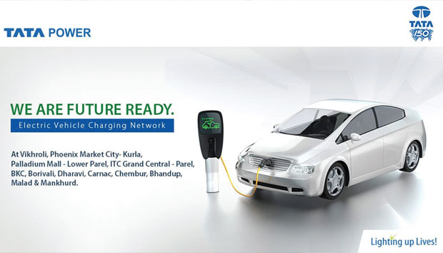 Tata power Electric Vehicle charging station