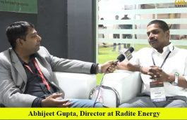 Interview with Abhijeet Gupta, Director at Radite Energy
