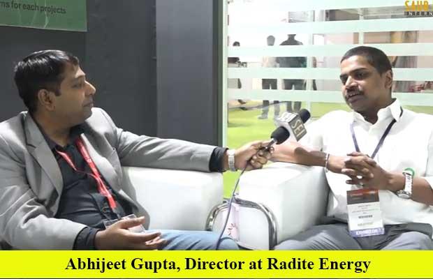 Interview with Abhijeet Gupta, Director at Radite Energy