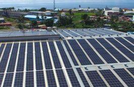 Solar Panels for Bottling Giant