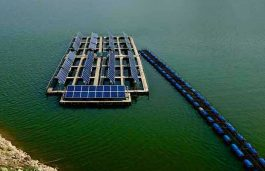 SECI Tenders for 15 MW Floating Solar Plant at SCCL