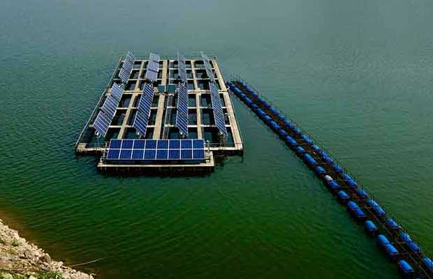 Floating Solar PV Project at Visakhapatnam