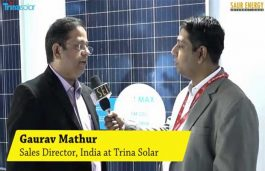 Interview with Gaurav Mathur, Sales Director, India, Trina Solar