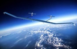 Microlink Devices' Solar Sheets Power Zephyr UAV Maiden Flight