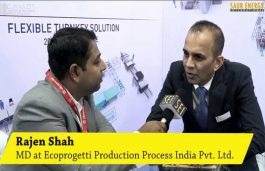 Interview with Rajen Shah, Managing Director at Ecoprogetti Production Process India Pvt. Ltd.