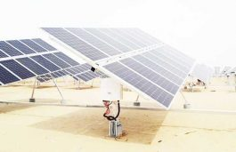 Solis' Various Generating Capacities of Single Axis Horizontal Tracker pv Power Station