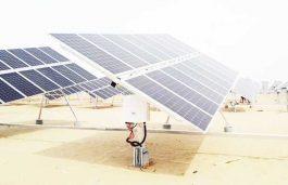 Solis' Various Generating Capacities of Single Axis Horizontal Tracker pv Power Station