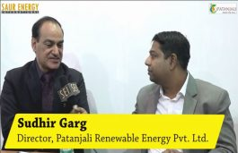 Interview with Sudhir Garg, Director, Patanjali Renewable Energy Pvt. Ltd.