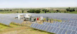 sungrow solar energy project