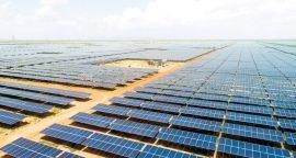 sungrow solar project bhadla rajasthan