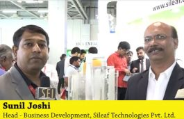 Interview with Sunil Joshi, Head – Business Development, Sileaf Technologies Pvt. Ltd.