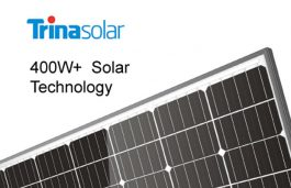 Trina's 400W+ Solar Modules May Prove to be Boon for Cities with Lesser Space